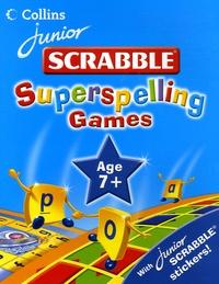 James David - Junior Scrabble Superspelling Games 7+.