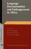 James Essegbey et Brent Henderson - Language Documentation and Endangerment in Africa.