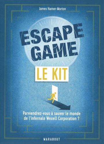 Le kit Escape Game. Parviendrez-vous à sauver le monde de l'infernale Wexell Corporation ?