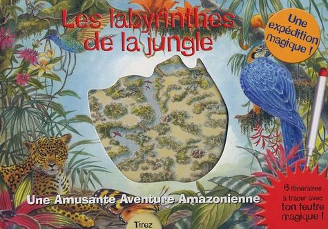 James Harisson et Gill Tomblin - Les labyrinthes de la jungle - Une Amusante Aventure Amazonienne.