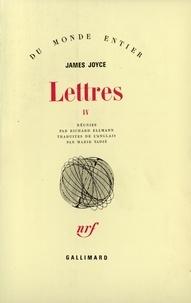 Marie Tadié et James Joyce - Lettres IV.