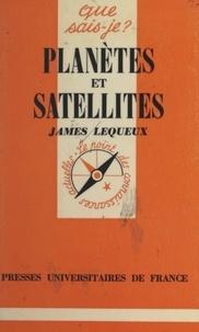 James Lequeux et Paul Angoulvent - Planètes et satellites.