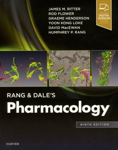كتاب rang and dale's pharmacology