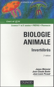 James Maissiat et Jean-Claude Baehr - Biologie animale - Invertébrés.