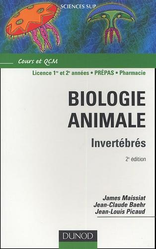 James Maissiat et Jean-Claude Baehr - Biologie animale - Invertébrés.
