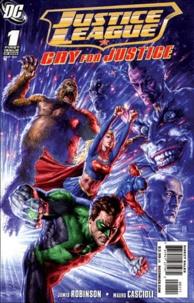 James Robinson et Mauro Cascioli - Justice League Tome 1/2 : La justice à tout prix.