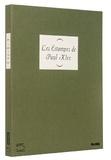 James Thrall Soby - Les estampes de Paul Klee.