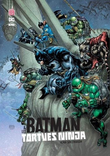 James Tynion IV et Ryan Ferrier - Batman et les Tortues Ninja Tome 2 : Venin sur l'Hudson.