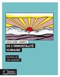 James William - De l'immortalité humaine - Deux prétendues objections à cette doctrine.
