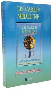 Jamie Sams et David Carson - Les cartes médecine - Pensées quotidiennes.