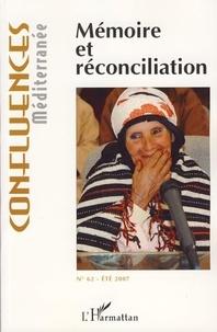 Jamila Houfaidi Settar - Confluences Méditerranée N° 62, Eté 2007 : Mémoire et réconciliation.