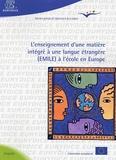 Jan Figel - L'enseignement d'une matière intégré à une langue étrangère (EMILE) à l'école en Europe.