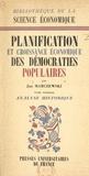 Jan Marczewski et Émile James - Planification et croissance économique des démocraties populaires (1) - Analyse historique.