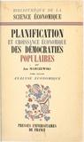 Jan Marczewski et Émile James - Planification et croissance économique des démocraties populaires (2). Analyse économique.