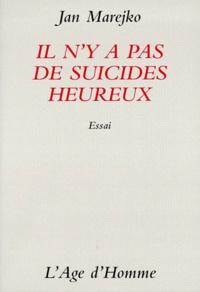 Il ny a pas de suicides heureux - Essai.pdf