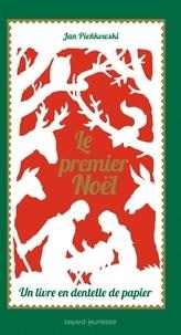 Jan Pienkowski - Le premier Noël - Un livre en dentelle de papier.