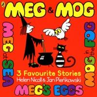 Jan Pienkowski et Helen Nicoll - Meg & Mog Volume 3 : 3 favourite stories.