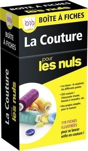 Jan Saunders Maresh - Boîte à fiches La Couture pour les nuls - 119 fiches illustrées.
