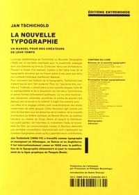 Jan Tschichold - La nouvelle typographie - Un manuel pour des créateurs de leur temps.