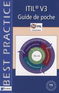 Jan Van Bon et Arjen De Jong - ITIL V3 - Guide de poche.