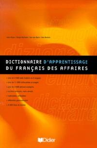 Jan Van Dyck et Jean Binon - Dictionnaire d'apprentissage du français des affaires.