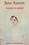 Jane Austen et Jane Austen - Amour et amitié.