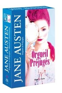 Jane Austen - Coffret en 2 volumes : Orgueil et préjugés ; Raison et sentiments.