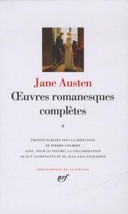 Jane Austen - Oeuvres romanesques complètes - Tome 2.