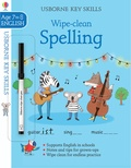 Jane Bingham et Elisa Paganelli - Key Skills Wipe-clean Spelling 7-8.