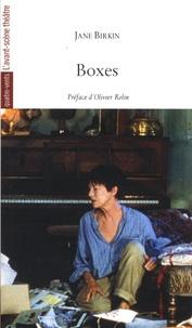Jane Birkin - Boxes.