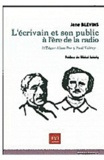 Jane Blevins - L'écrivain et son public à l'ère de la radio - D'Edgar Allan Poe à Paul Valéry.