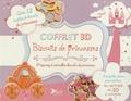 Jane Lawrie - Coffret 3D Biscuits de princesses - 1 livre de recettes avec 3 emporte-pièces pour réaliser un carrosse en 3D à croquer.