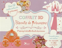Corridashivernales.be Coffret 3D Biscuits de princesses - 1 livre de recettes avec 3 emporte-pièces pour réaliser un carrosse en 3D à croquer Image
