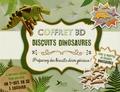 Jane Lawrie - Coffret 3D Biscuits dinosaures - Un Livre de recette avec 4 emporte-pièces pour réaliser un T-rex en 3D à croquer.