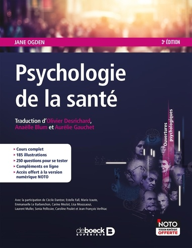 Psychologie de la santé 3e édition