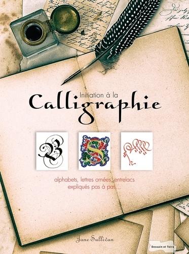 Jane Sullivan - Calligraphie - Initiation à 9 styles d'écriture, alphabets, lettres ornées, entrelacs....