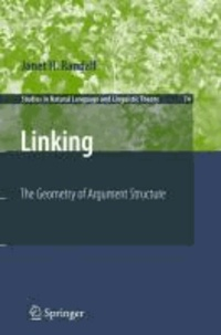Janet H. Randall - Linking - The Geometry of Argument Structure.