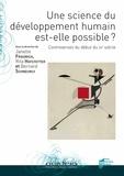 Janette Friedrich et Rita Hofstetter - Une science du développement humain est-elle possible ? - Controverses du début du XXe siècle.