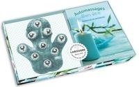 Janine Bharucha - Automassages Bien-être - Relaxants et anti-stress. Avec 1 gant de massage en silicone.