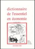 Janine Brémond et Jean-François Couet - Dictionnaire de l'essentiel en économie.
