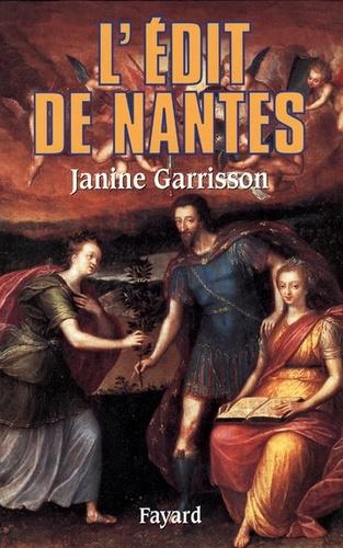 L'Edit de Nantes. Chronique d'une paix attendue