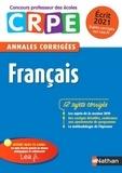 Janine Hiu - Français écrit CRPE - Annales corrigées.