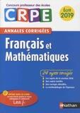 Janine Hiu et Daniel Motteau - Francais et Mathématiques - Ecrit - Annales corrigées.