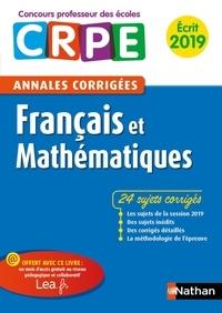 Janine Hiu et Daniel Motteau - Francais et Mathématiques - Annales corrigées écrit CRPE.