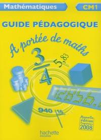 Janine Leclec'h-Lucas et Jean-Claude Lucas - Mathématiques CM1 A portée de maths - Guide pédagogique.