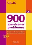 Janine Lucas et Jean-Claude Lucas - 900 exercices et problèmes CE - Deux niveaux d'exercices pour l'aide personnalisée et l'approfondissement.