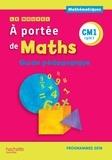 Janine Lucas et Jean-Claude Lucas - Mathématiques CM1 cycle 3 Le nouvel A portée de Maths - Guide pédagogique.