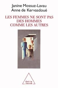 Janine Mossuz-Lavau et Anne de Kervasdoué - femmes ne sont pas des hommes comme les autres (Les).