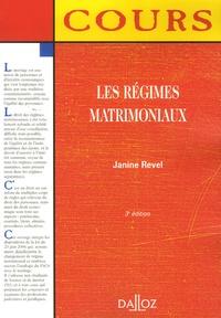 Les régimes matrimoniaux.pdf