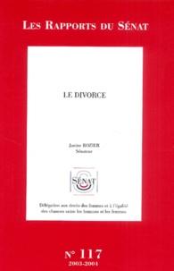 Janine Rozier - Le divorce.